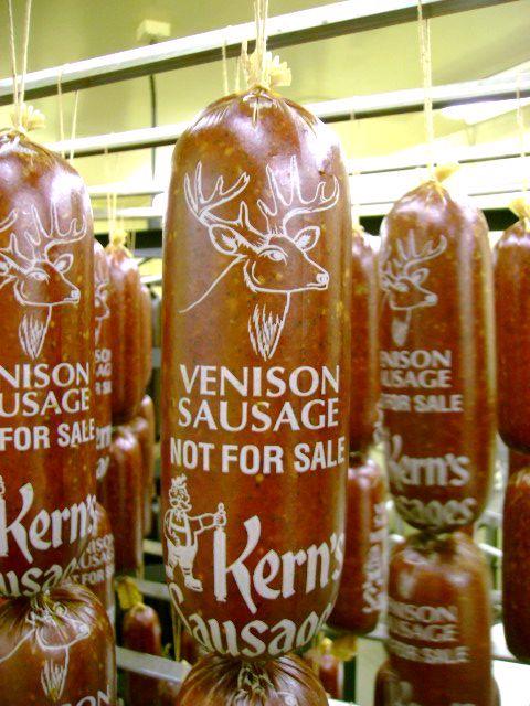 Venison Sausage Chubs